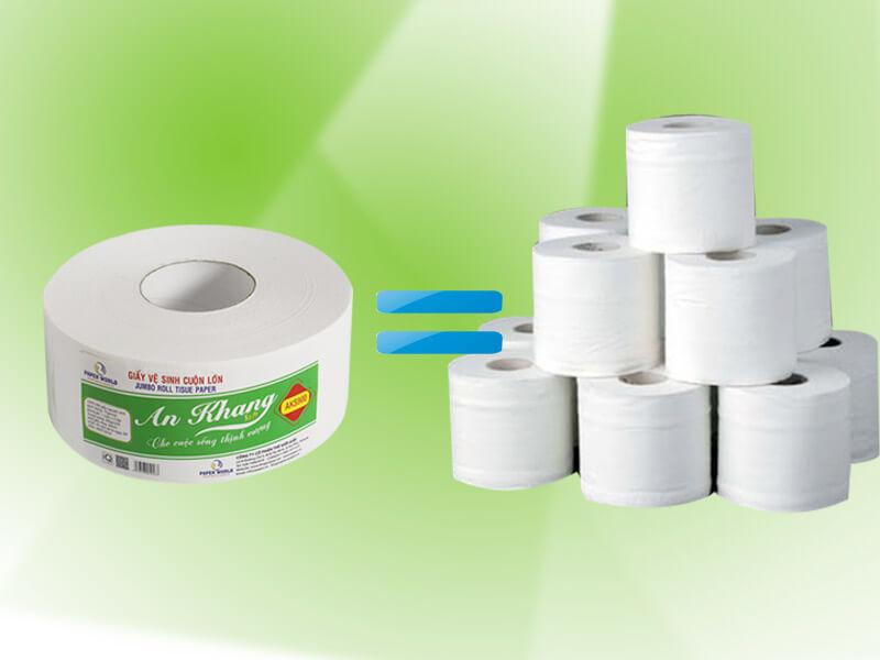 Các loại giấy cuộn vệ sinh