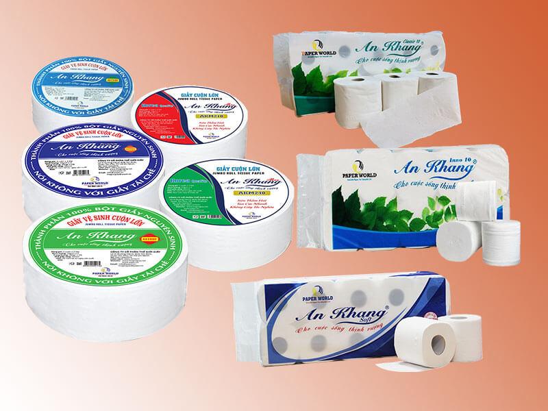 Các loại giấy vệ sinh An Khang