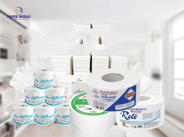 Các loại giấy vệ sinh công nghiệp