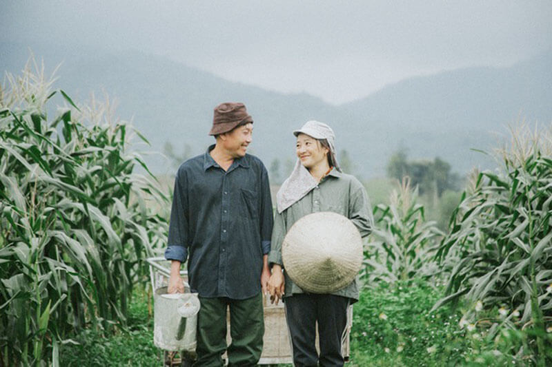 Người nông dân hạnh phúc