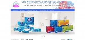 Công ty sản xuất giấy tiêu dùng Hương Quỳnh