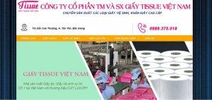 Công ty sản xuất giấy tiêu dùng Tissue Việt Nam