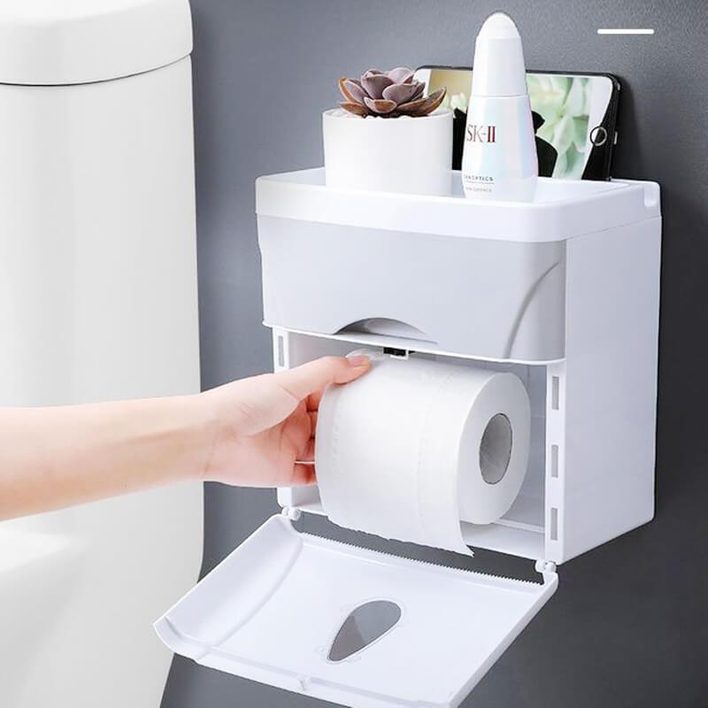 Hộp đựng giấy vệ sinh đa năng