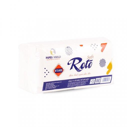 Khăn giấy napkin roto soft400 siêu tiết kiệm