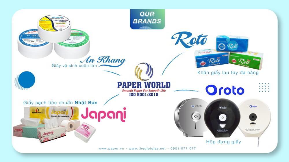 Định vị các thương hiệu sản phẩm tại Thế Giới Giấy