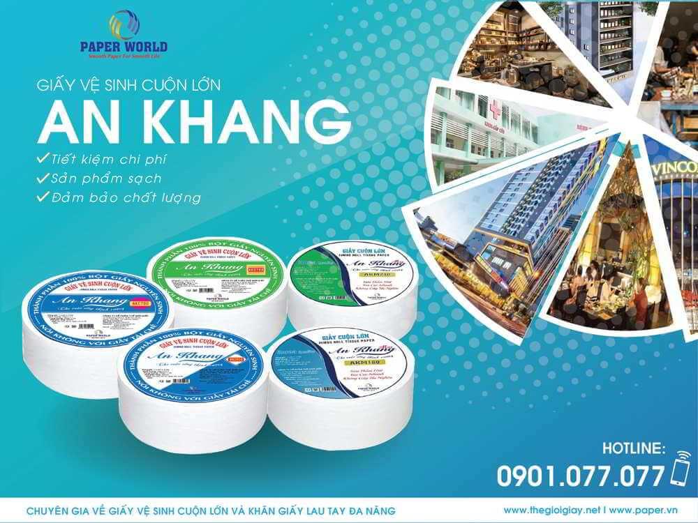 Giấy cuộn lớn An Khang