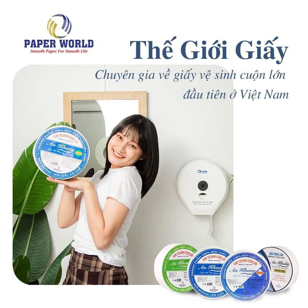 Thế Giới Giấy - Chuyên gia về giấy vệ sinh cuộn lớn